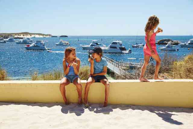 Kids Travel FREE with SeaLink from Fremantle!