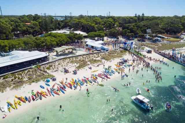 Rottnest Channel Swim 2020