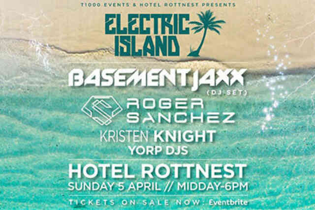 Electric Island ft. Basement Jaxx + more!