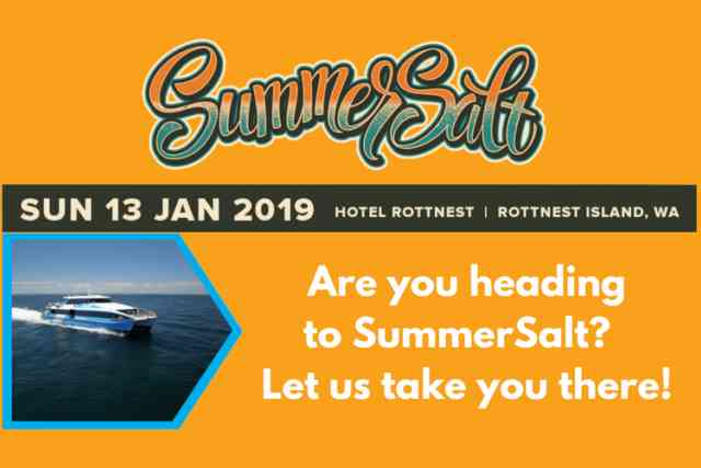 SummerSalt 2019 on Rottnest Island!