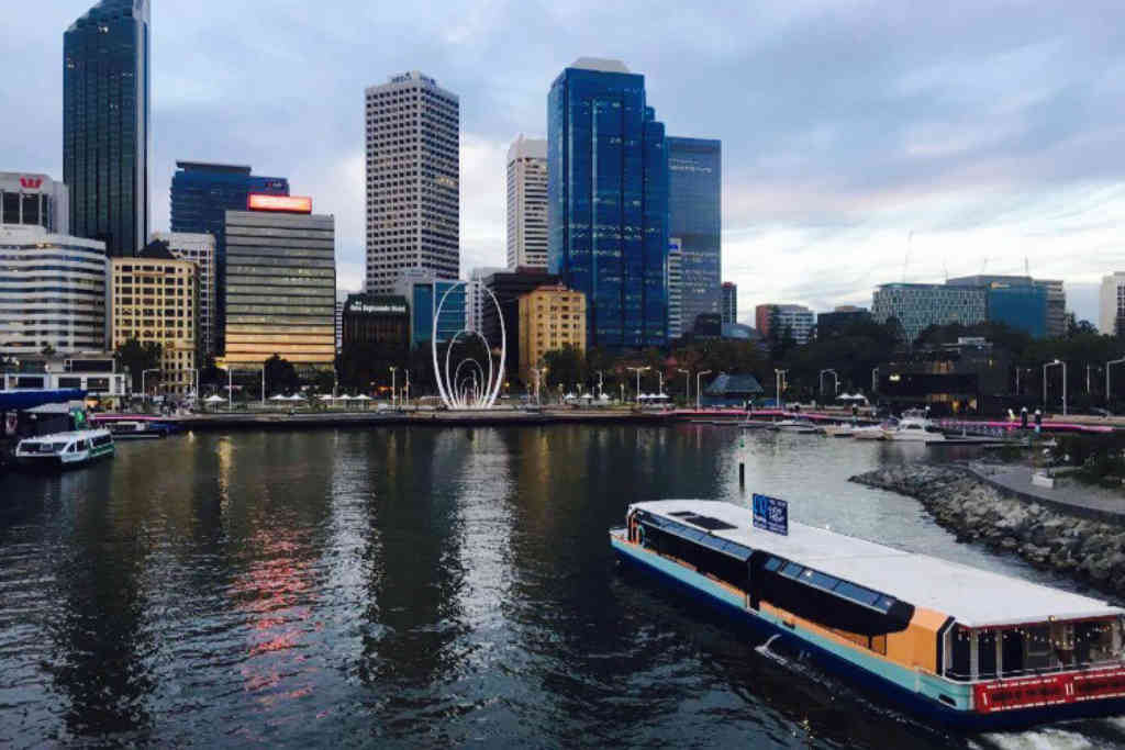 Elizabeth Quay Floating Pop Up Bar