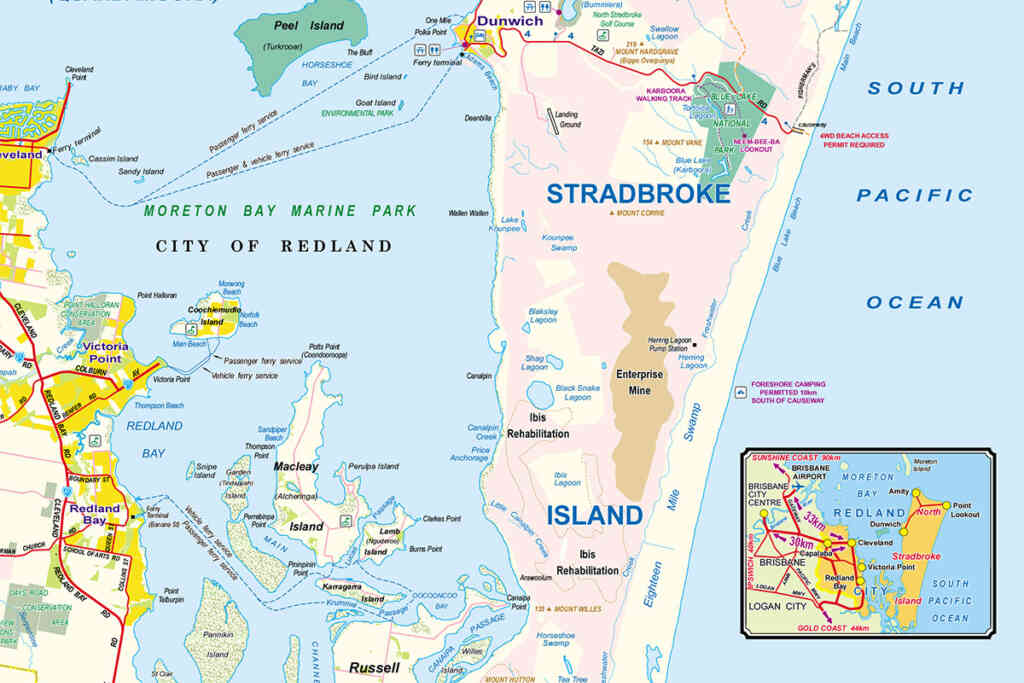Stradbroke Map Preview